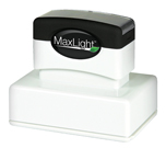 Our MaxLight Custom Pre-Inked Stamps provide thousands of crisp clear impressions from ink contained within the stamp. Available in 15 sizes to meet all of your stamping needs.